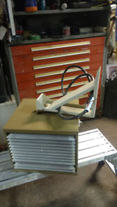 large  220 volt electric heater ,