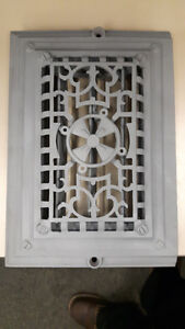 Cast Iron Vent cover - powdercoated - Old School  This old schoo