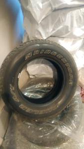 255 70 r18 tire Bridgestone
