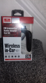 Car mp3 player wireless in car new