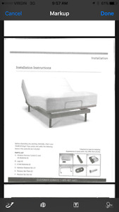 Twin Hospital bed.