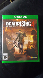 Dead Rising 4 in excellent condition