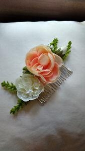 David's Bridal flowery hairpiece London Ontario image 1