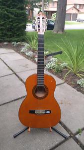Mini nylon string guitar