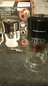 Iced coffee/tea maker