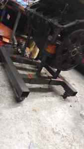 Homemade engine cradle dolly SBC West Island Greater Montréal image 2