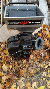 Forest King Chipper & Leaf Shedder