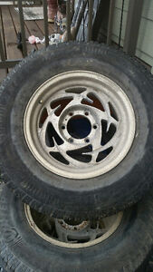 Two Set SUV/Light Truck winter tires