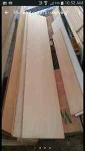 Particleboard for shelves etc.