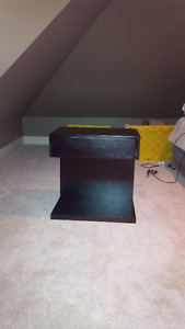 END TABLES OR NITE TABLES EXPRESSO FINISH (PAIR)