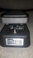 Dunlop Cry Baby Wah pedal for sale