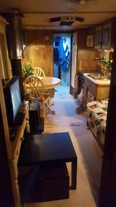 1978 35.5ft mallard holiday trailer