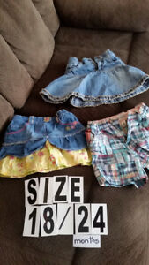Size 18 - 24 months  , $3 for all