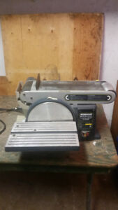 Mastercraft Belt & Disc Sander