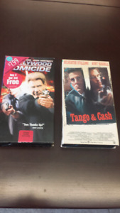 2 COLLECTOR VHS MOVIES