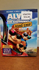 Alvin And The Chipmunks: The Road Chip (Blu-ray + DVD + Digital Windsor Region Ontario image 1