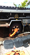 nemisis 4wd wheel clamp Wollongbar Ballina Area Preview
