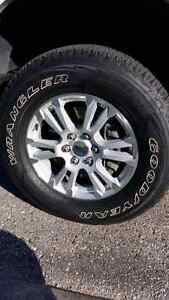 2015 f150 stock lariat rims with tires  Kitchener / Waterloo Kitchener Area image 1