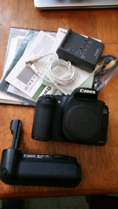 Canon 20D With Canon Battery Grip