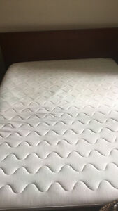 Very good condition Queen mattress and bed