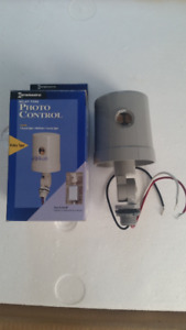 Electrical control photo cell heavy duty for lighting brand new