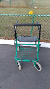 Metal Folding Walker Excellent Condition!!