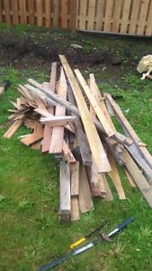 FREE scrap wood, bricks, aspinite Alexandria