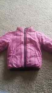 North Face winter jacket reversible