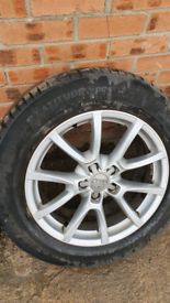 18inch audi alloys alloy wheels 5x112