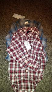 Boy dressing shirt