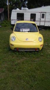 Beetle tdi volkswagen 1998 à vendre 500$