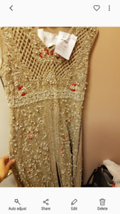 NEW BRIDAL DRESS WITH LENGHA
