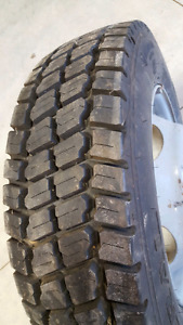 """19.5"""" Commercial Tire and Rim"""