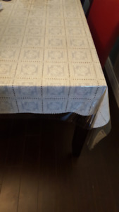 Dinner Table Cloth Vinyl