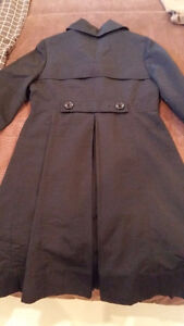 Blk Mossimo Spring/Fall Pleated Coat with Pockets $25 Kingston Kingston Area image 3