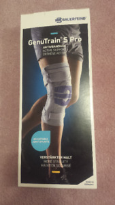 Brand New Bauerfeind Genutrain S Pro Knee Brace and Support
