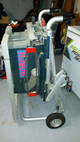 ***********Bosch portable table saw*******  Mint cond!!!