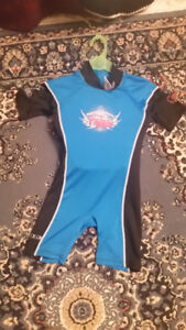 Float Suit - Swimsuit Med 40-50 lbs / 18 * 22 kg   $10 Used few