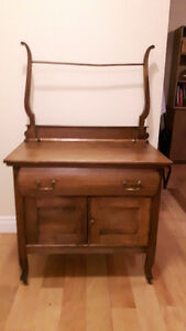 Solid Wood - Antique Wash Stand