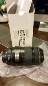 Canon 75-300mm Image Stabilized Lens