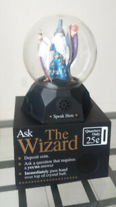 "Coin Operated Arcade Machine ""Ask The Wizard"" (Made in Canada)"