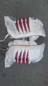 Hockey goalie equipment
