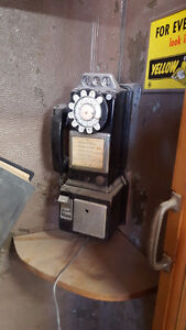 Western Electric Bell Wooden Store Public Phone Telephone Booth Kawartha Lakes Peterborough Area image 6