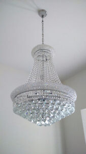 Modern Chandelier Crystals | Buy or Sell Indoor Home Items in ...