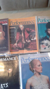OKEEPE CENTRE---PERFORMANCE MAGAZINES 1980-1991