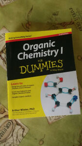 Organic Chemistry 1 for Dummies (Second Edition, 2014)