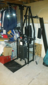 York 2001 Home Gym with Pec Deck