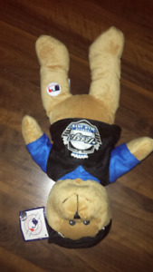 Toronto Blue Jays bear collectable official merchandise tags