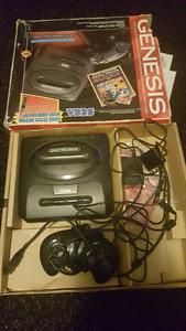 Boxed Sega Genesis Lot