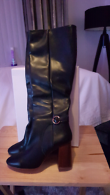 OFFICE REAL LEATHER BOOTS